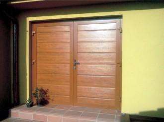 Zateplená garážová vrata